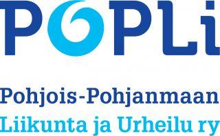 Pohjois-Pohjanmaan Liikunta ja Urheilu ry logo