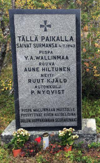 Piispankivi Inarin Laanilassa
