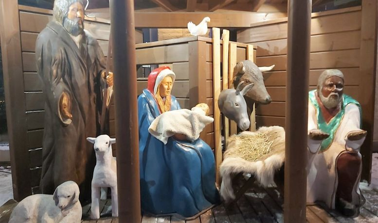 Piispantalon jouluseimi kutsuu pysähtymään