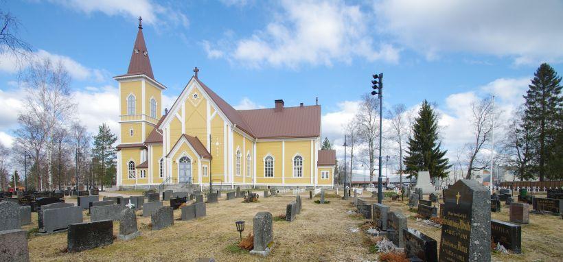 Nivalan kirkko siunataan käyttöön juhlallisesti piispanmessulla 30.5.