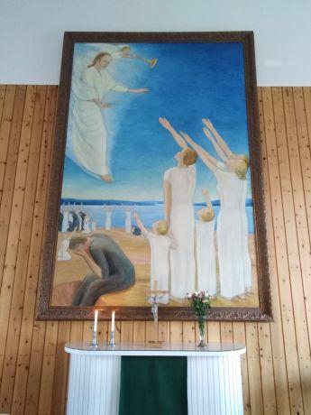 Piispa Jukka Keskitalo tarkastaa Posion seurakunnan